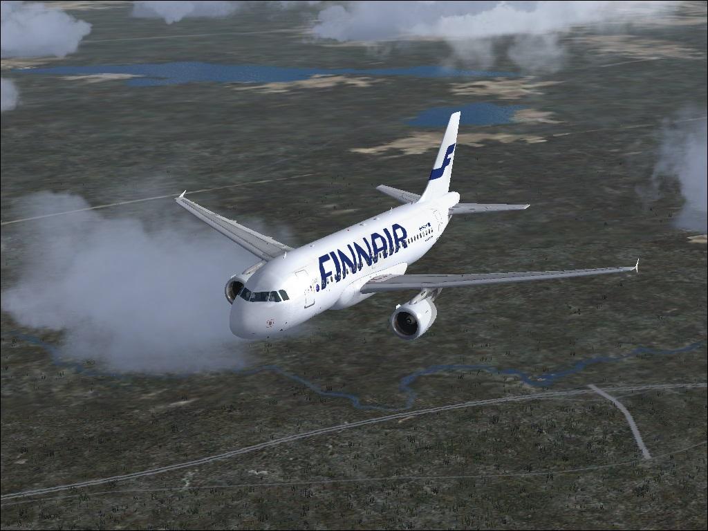 fs-freeware net - Finnair A320 for FSX