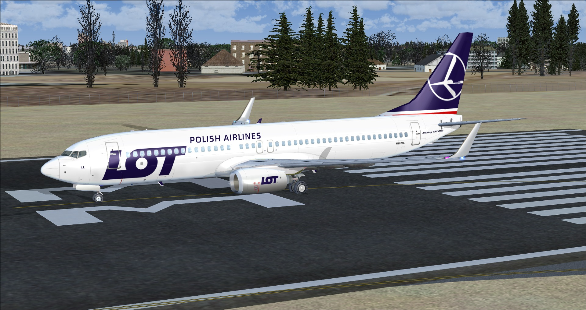fs-freeware net - FSX Boeing 737-800 LOT Polish Airlines with VC and FMC