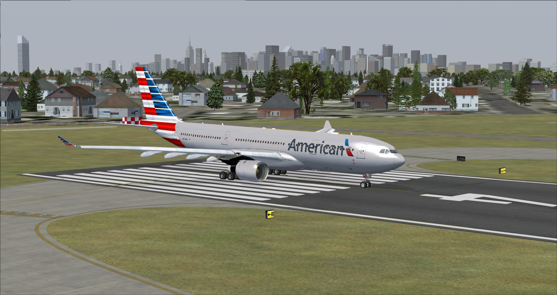 Fs Freeware Net Fsx A330 200 American Airlines