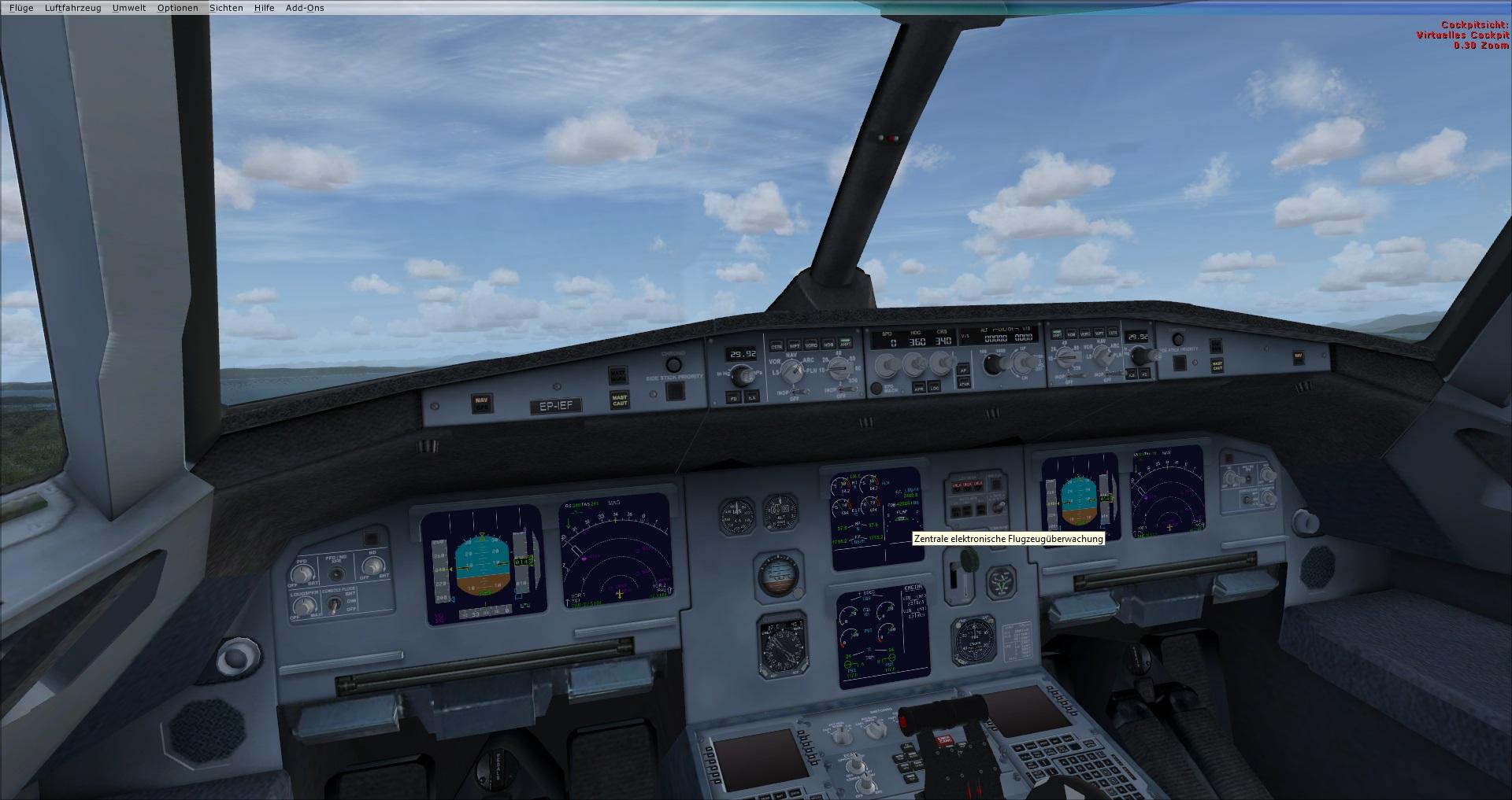 fs-freeware net - FSX Iran Air - Airbus A320-211 CFM