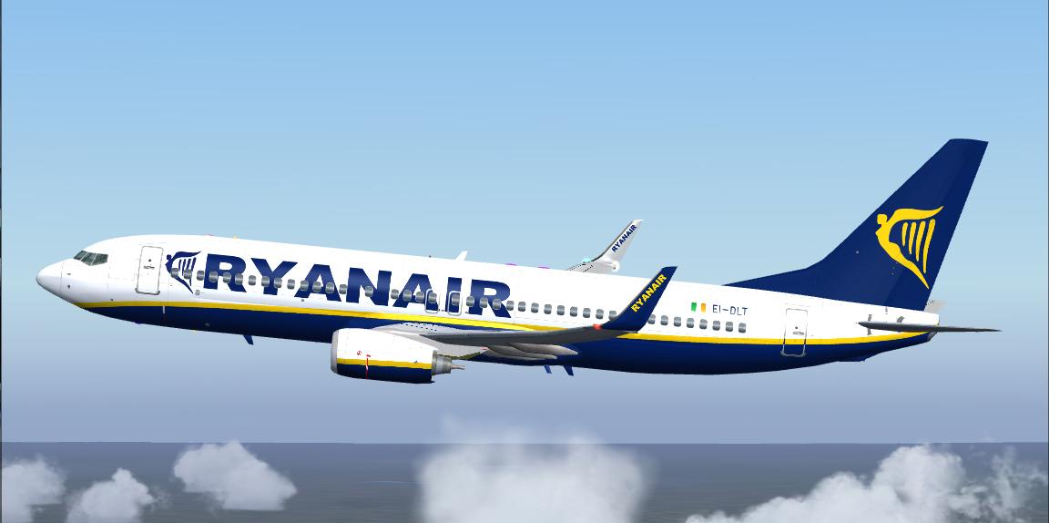 fs-freeware net - FSX Boeing 737-800 Ryanair EI-DLT Package