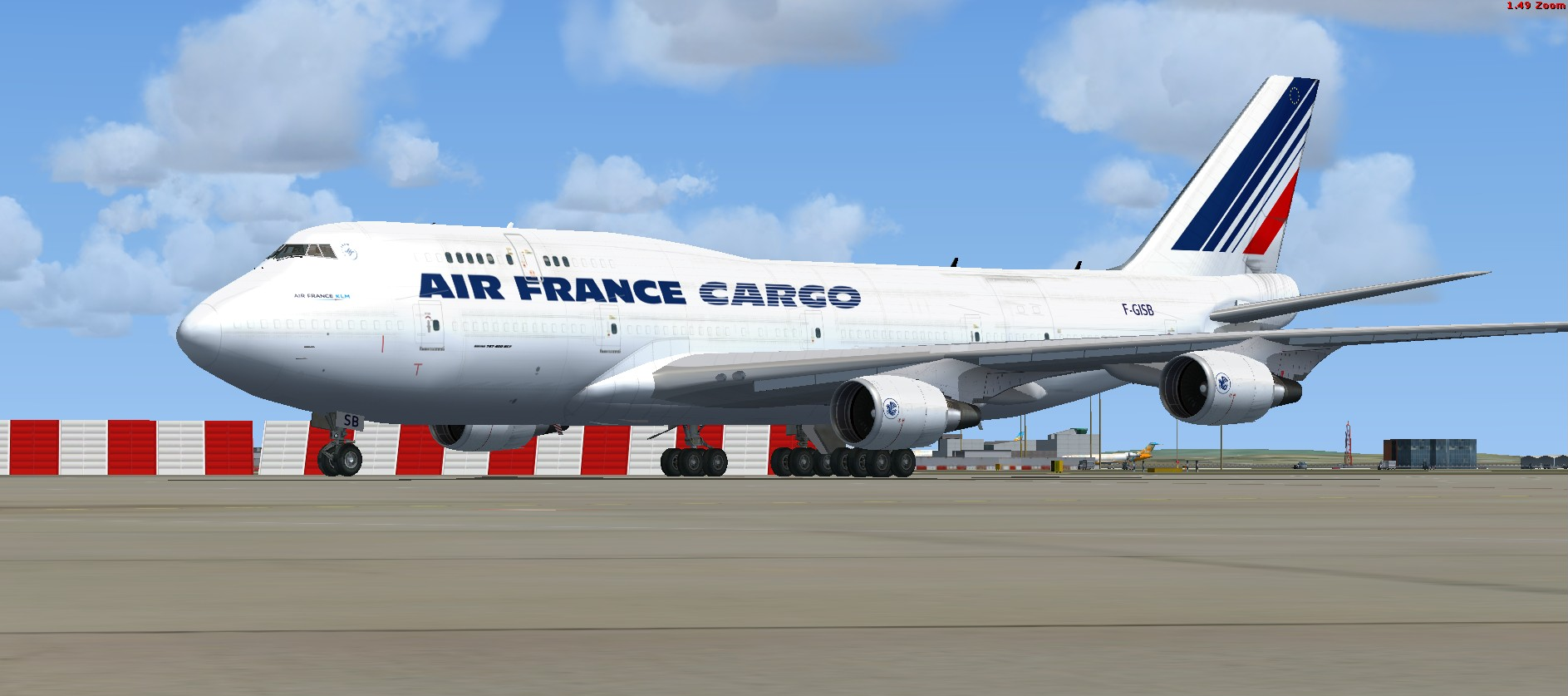 fs-freeware net - FSX Boeing 747 Air France Cargo