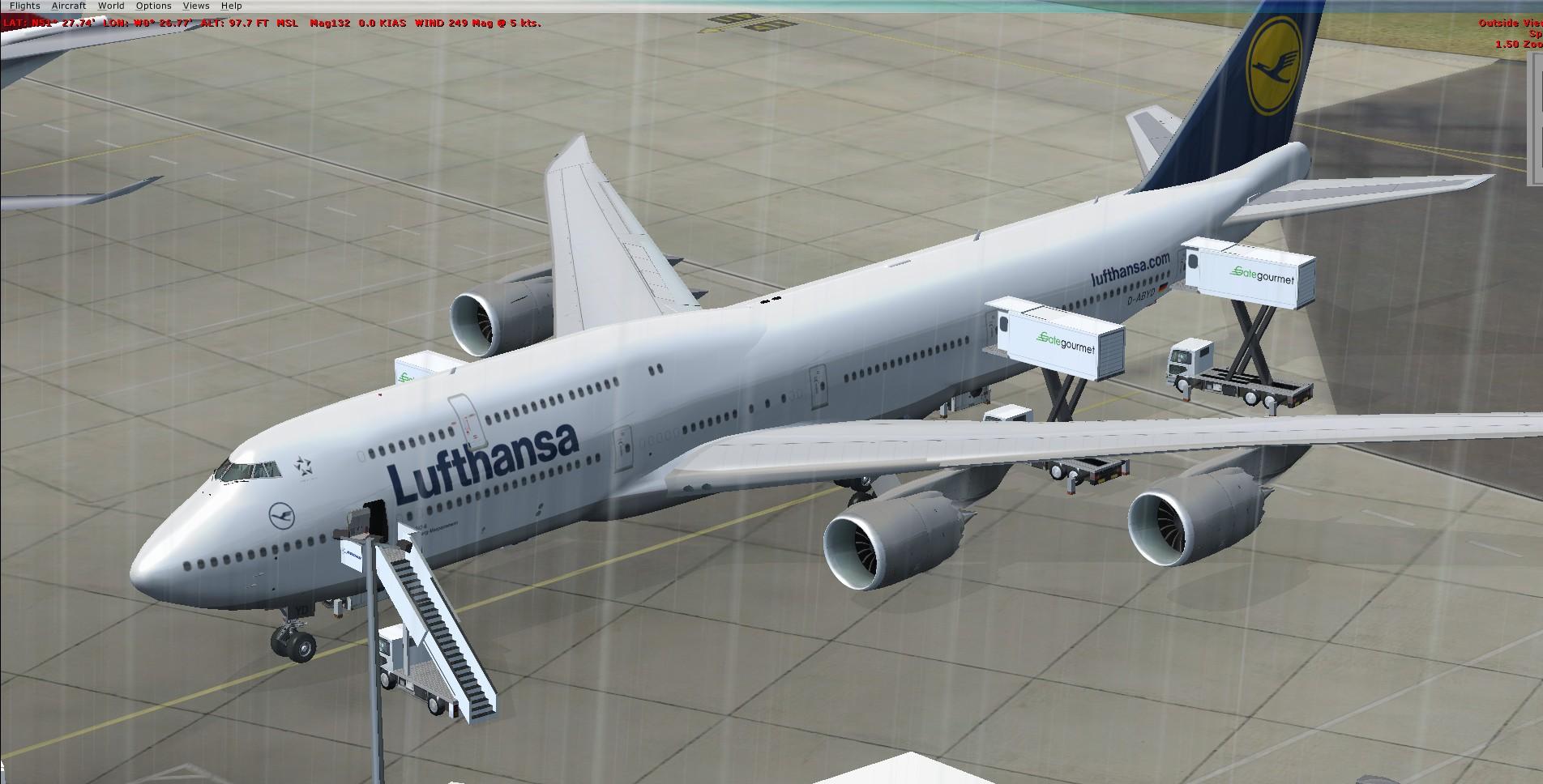 fs-freeware net - FSX Boeing 747-8i Lufthansa