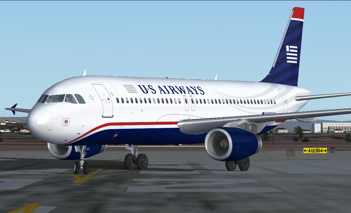fs-freeware net - FSX Airbus A320-200 US Airways NC Package