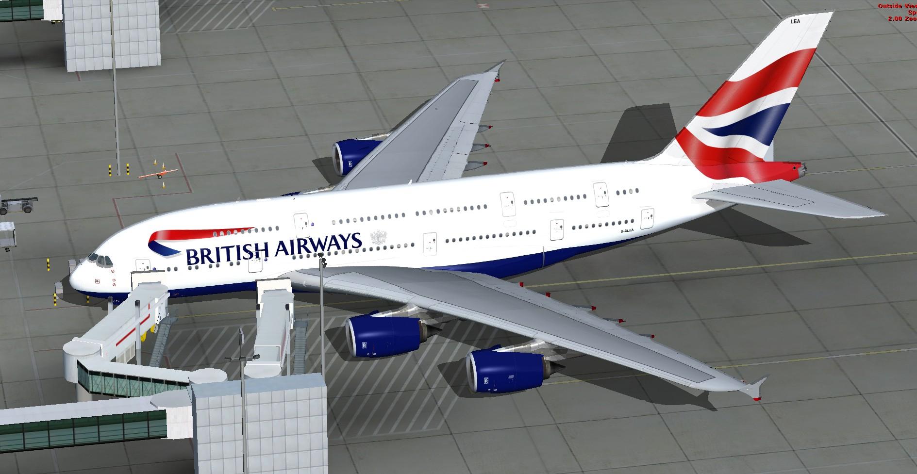 project airbus a380 british airways - blogutis lt