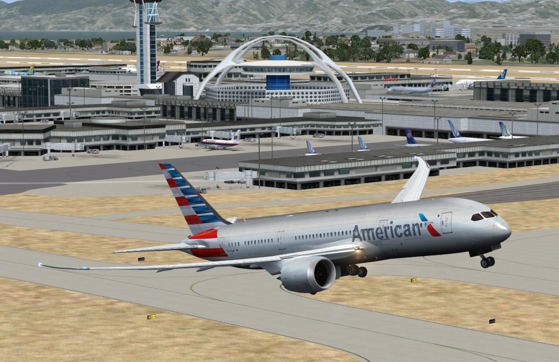 fs-freeware net - FSX Boeing 787-8 American Airlines