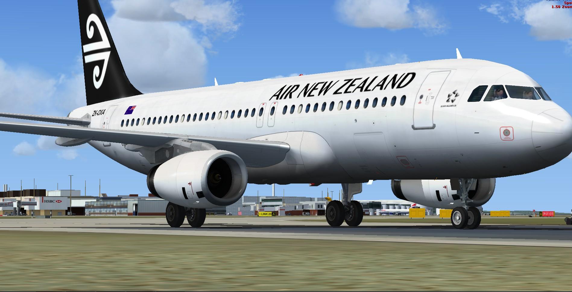 fs-freeware net - FSX Airbus A320-200 Air New Zealand