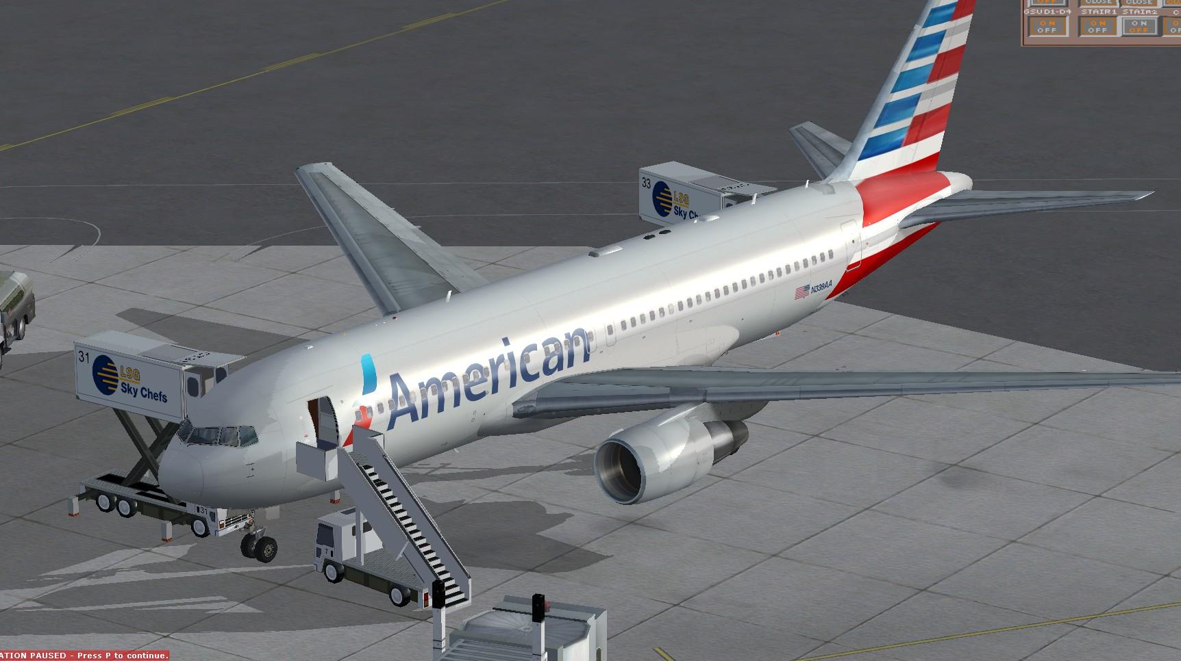 fs-freeware net - FSX Boeing 767-200ER American Airlines new