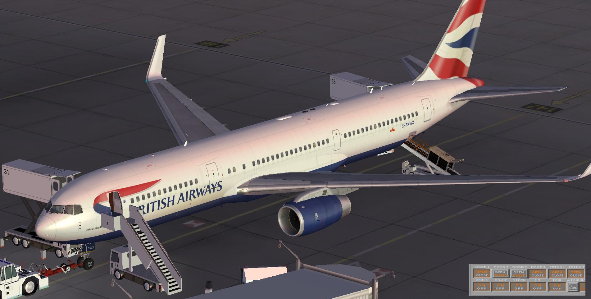fs-freeware net - FSX Boeing 767-336/ER British Airways winglet with VC