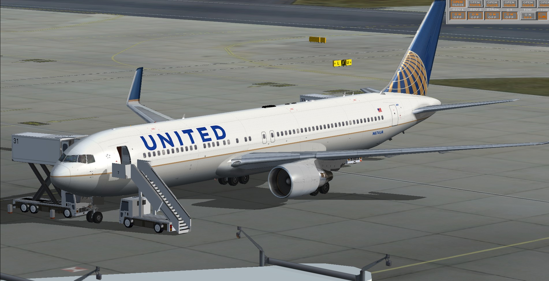 fs-freeware.net - FSX Boeing 767-300 United