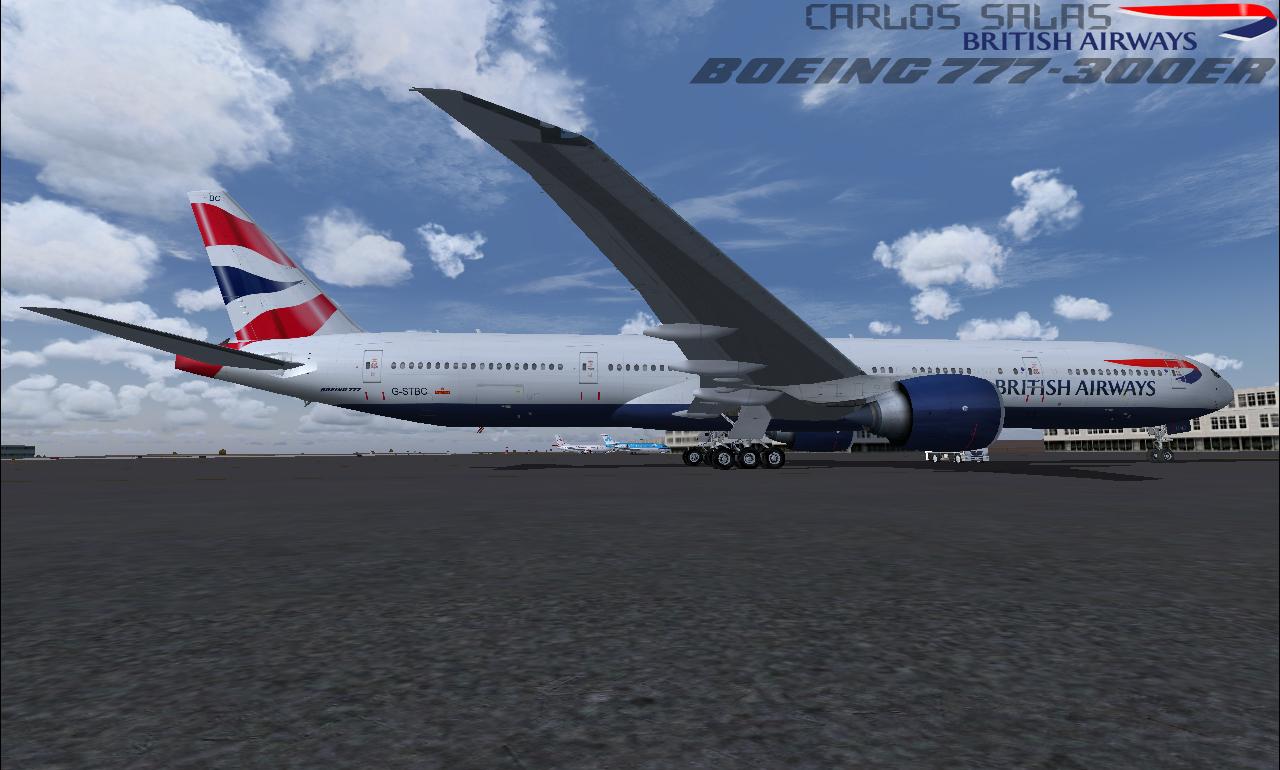 fs-freeware net - FSX Boeing 777-300ER British Airways