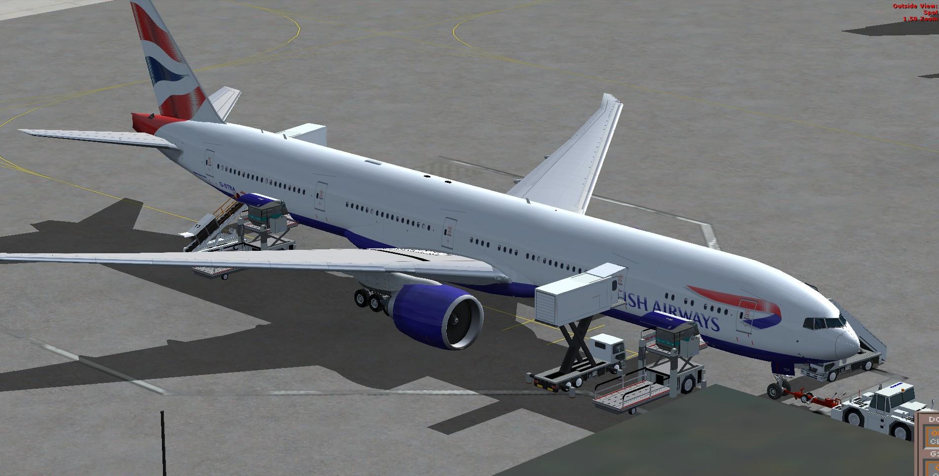 fs-freeware net - FSX Boeing 777-300ER British Airways G