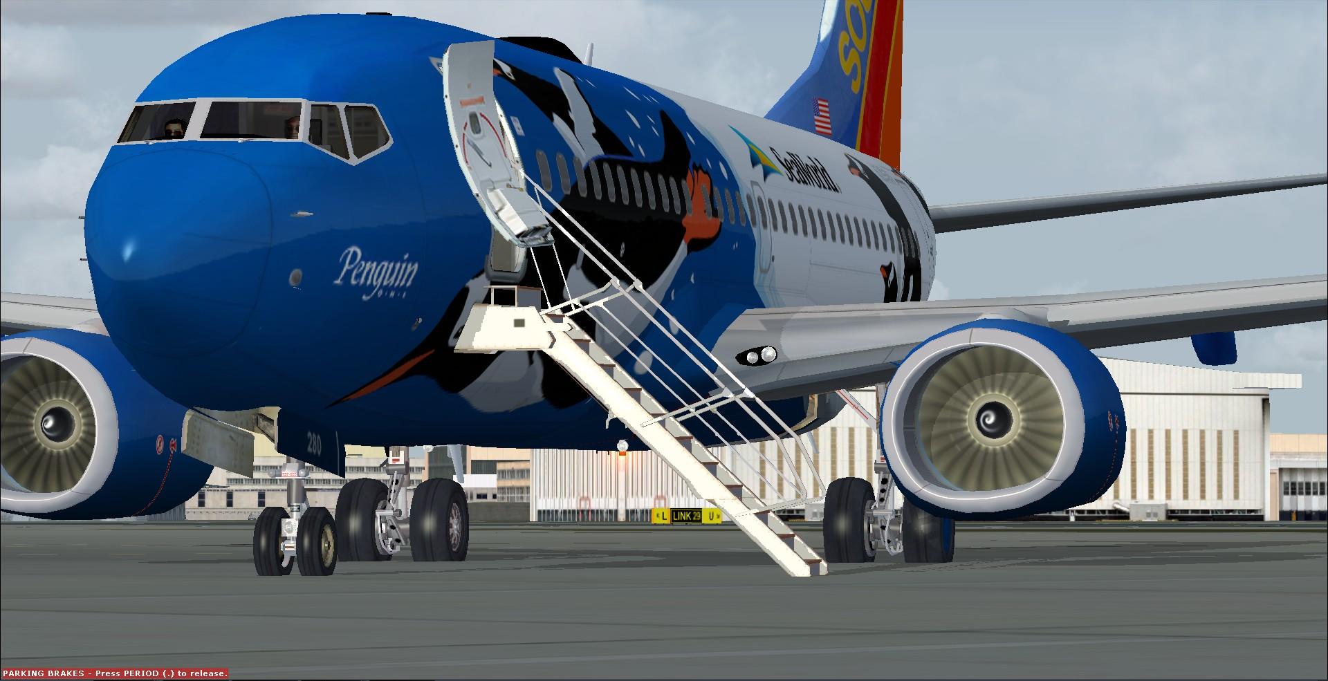 fs-freeware net - FSX Boeing 737-700 Southwest Airlines 'Penguin One