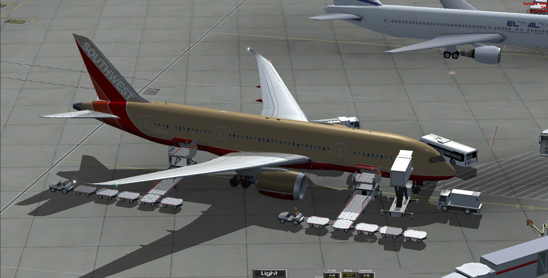fs-freeware net - FSX Boeing 787-8 Southwest Airlines N-778SW with VC