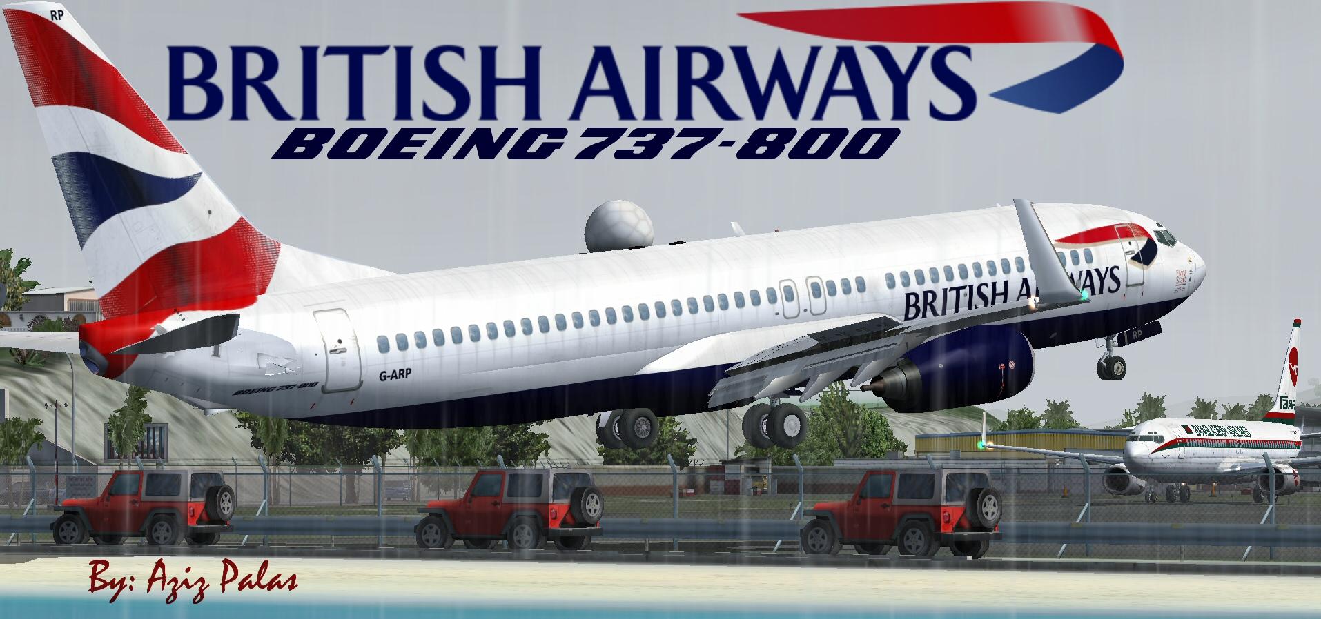 fs-freeware net - FSX British Airways B737-800