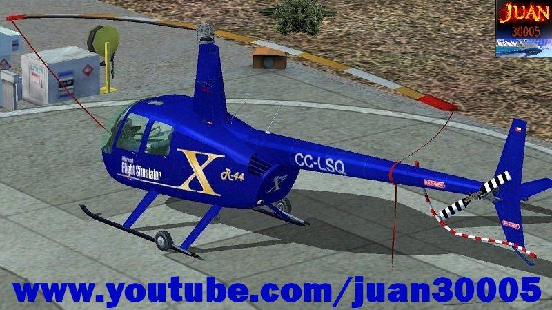 Robinson R44 fsx Free