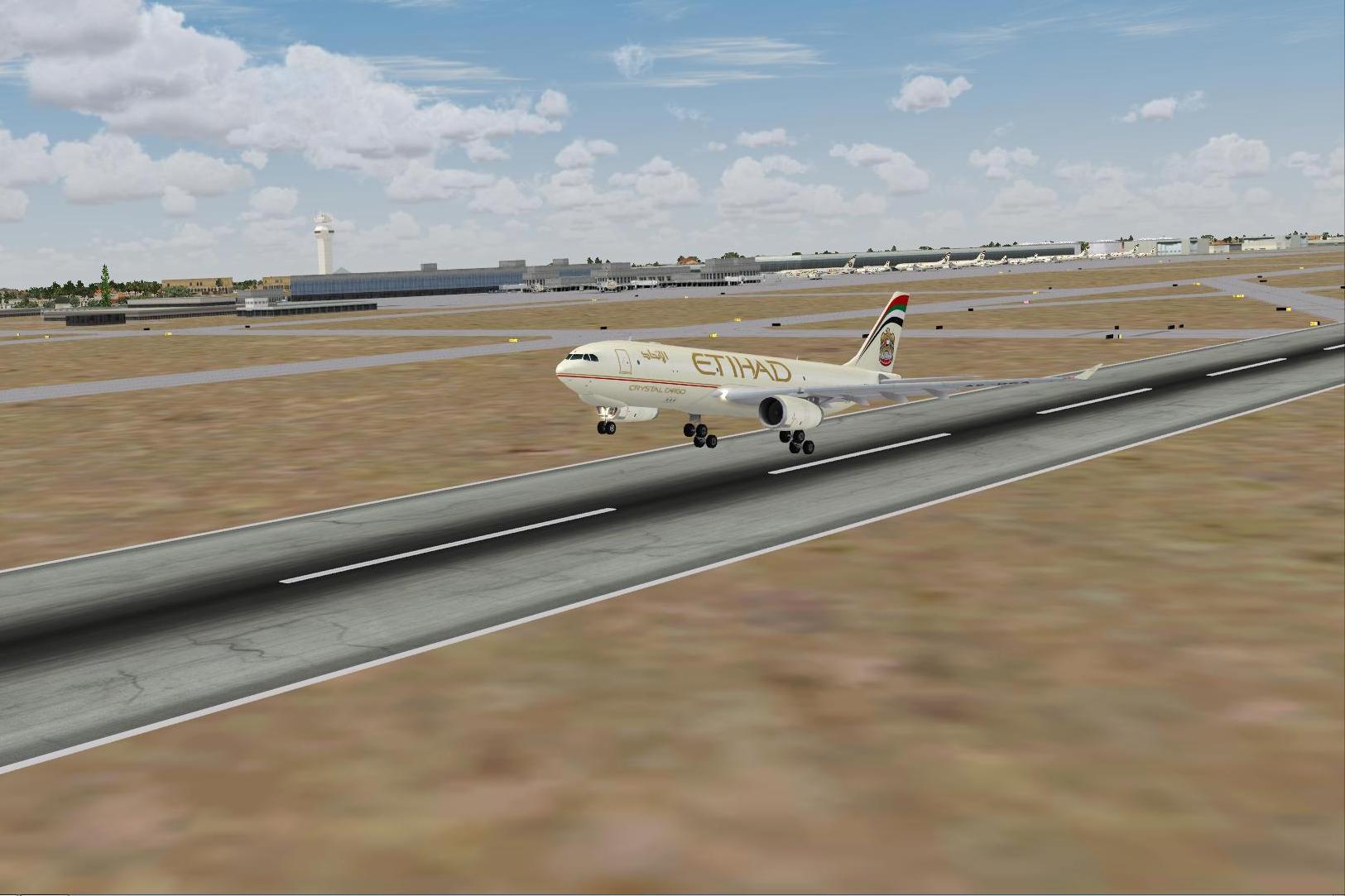 fs-freeware net - FSX Abu Dhabi International Airport
