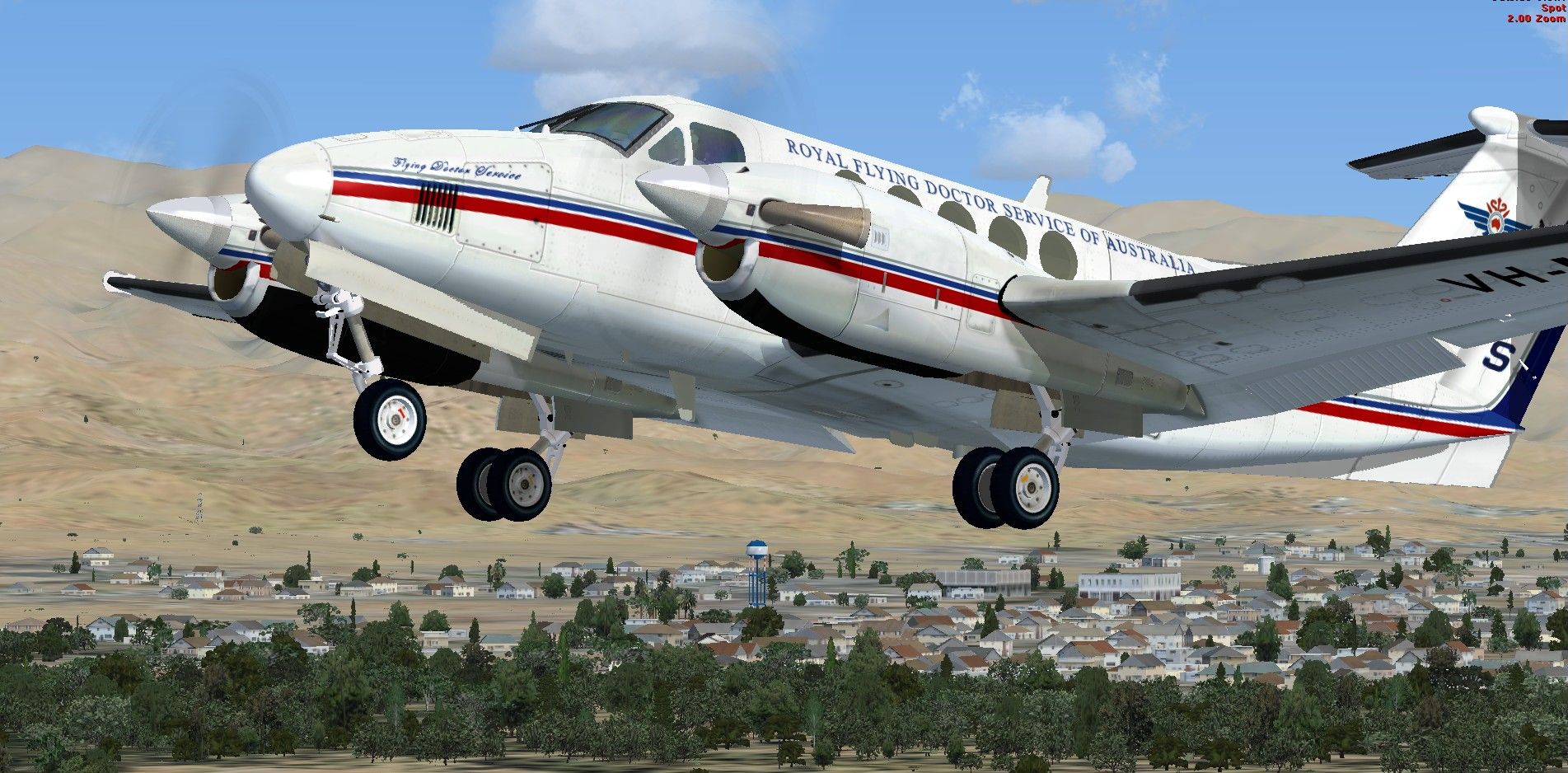 fs-freeware net - FSX Beechcraft Kingair 200 Package