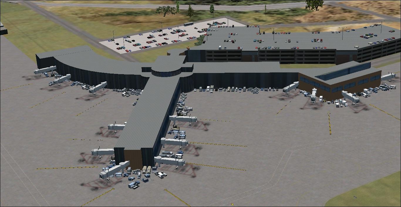 fs-freeware net - FSX Albany International Airport, KALB