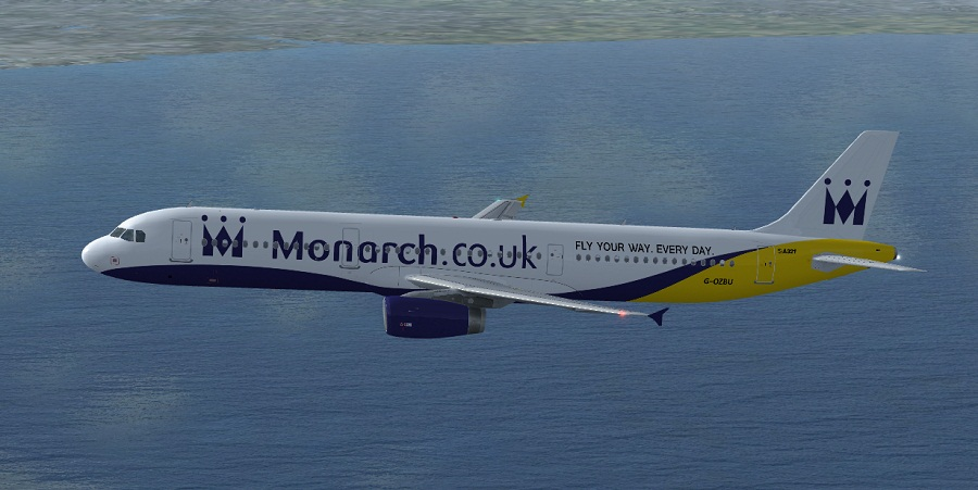 fs-freeware net - FSX Monarch Airlines Airbus A321-231