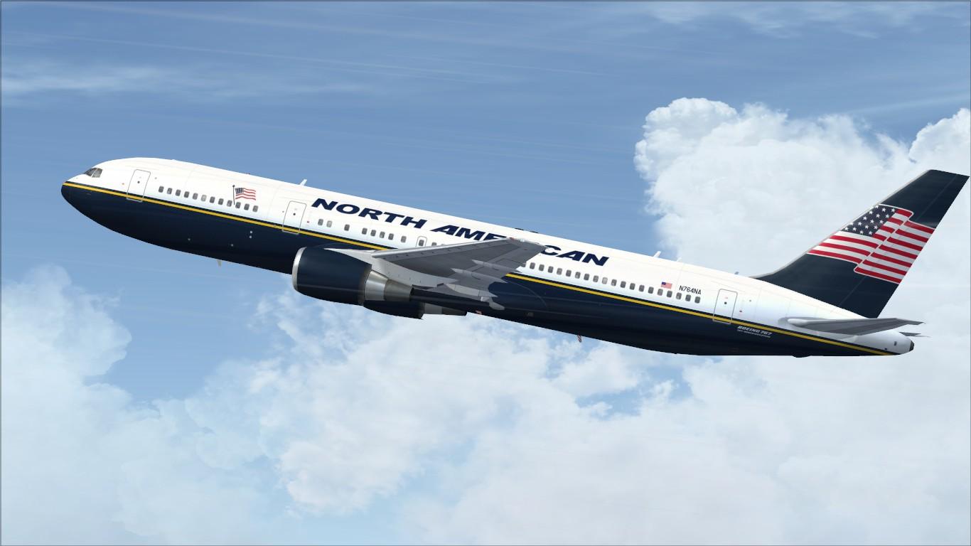 fs-freeware net - FSX North American Airlines Boeing 767