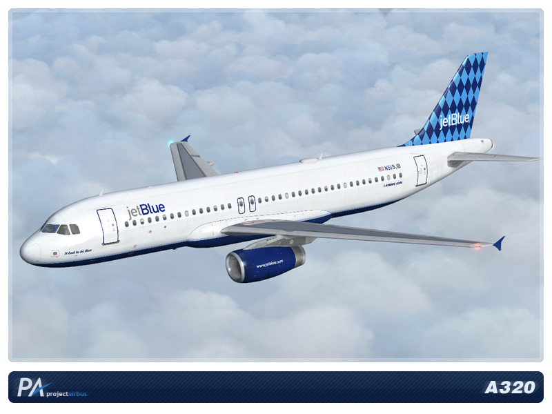 fs-freeware net - FSX JetBlue A320 Mega Pack V 2