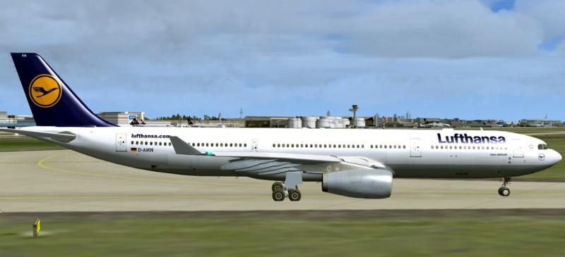 fs-freeware net - FSX Airbus A330-300 Lufthansa