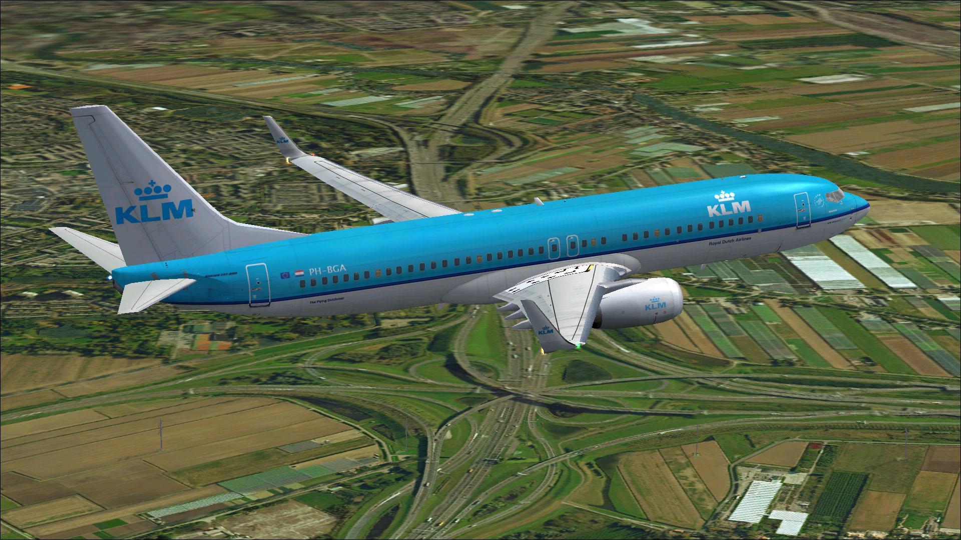 fs-freeware net - FSX Boeing 737-800 KLM