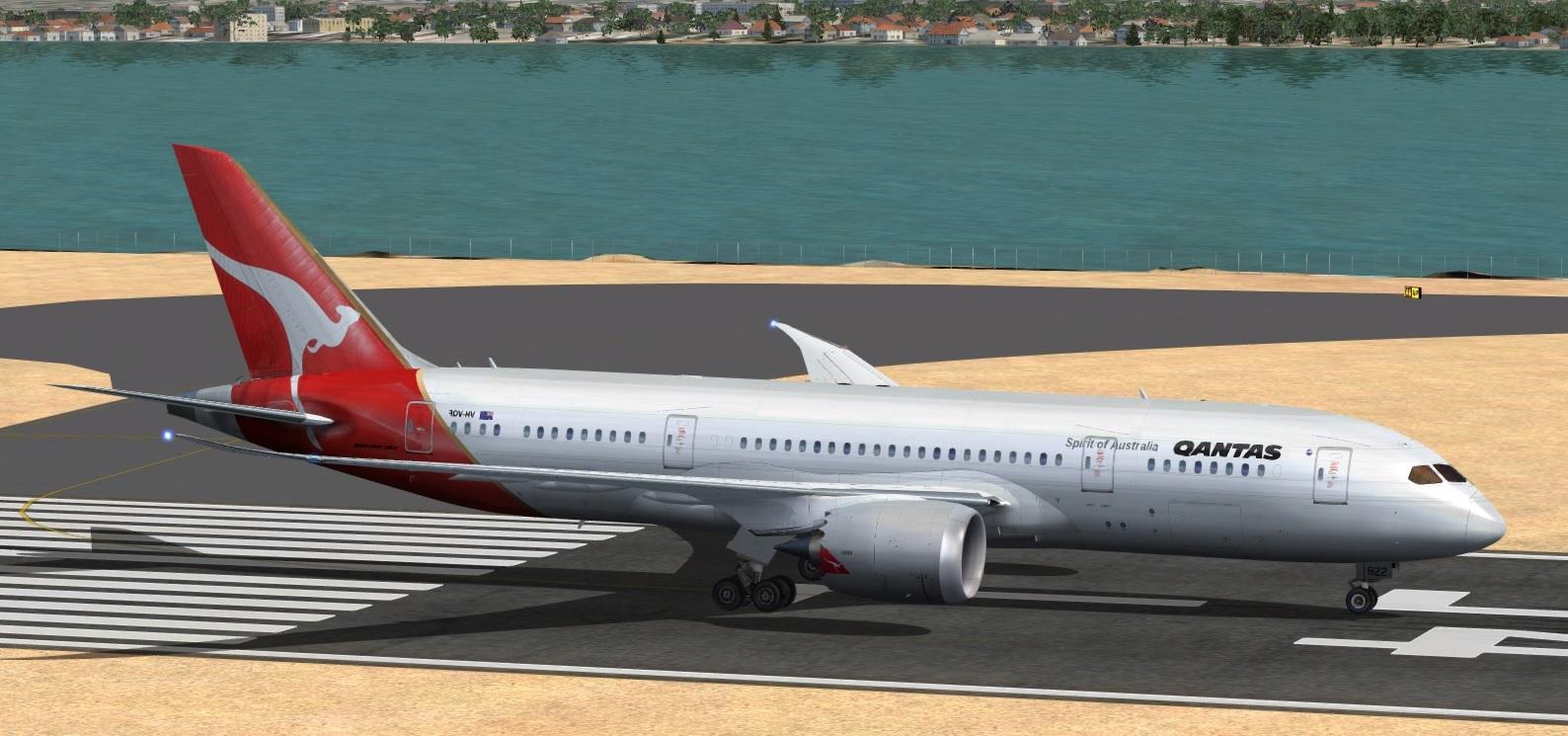 fs-freeware net - FSX Boeing 787-8 Qantas