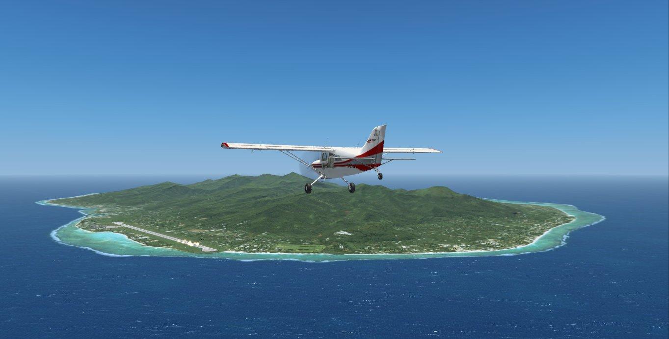 fs-freeware net - FSX Southern Cook Islands Photo Real Scenery