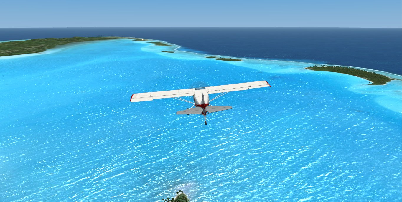 Fsfreeware  FSX Southern Cook Islands Photo Real Scenery