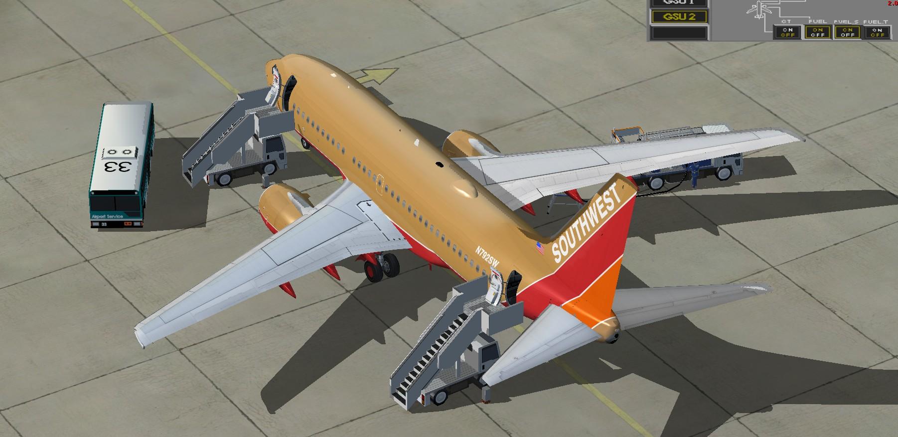 Southwest Airlines Boeing 737 700 N739gb For Fs2004 – Desenhos Para