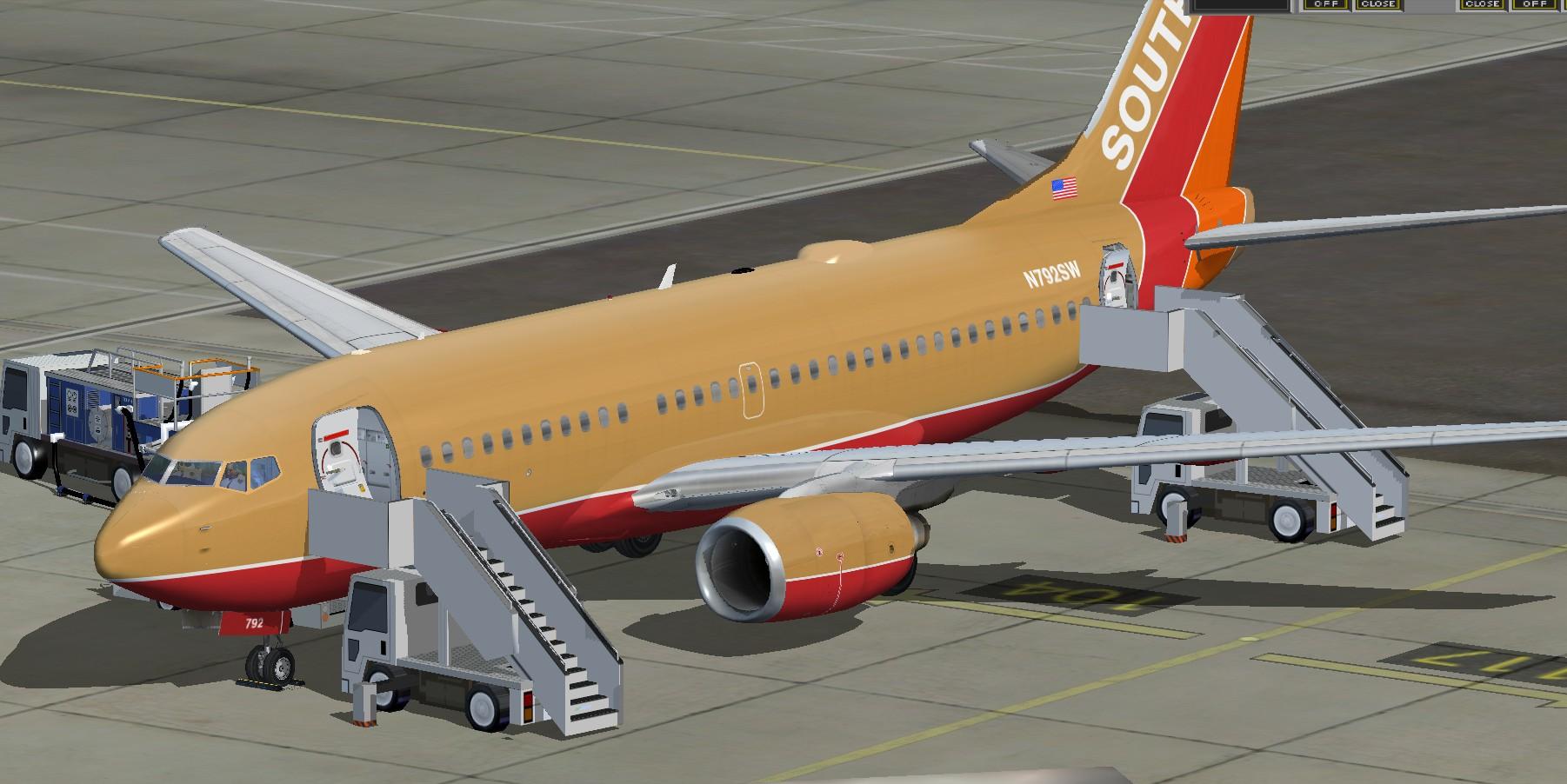 fsfreewarenet  FSX TDS Boeing 737700 Southwest Airlines