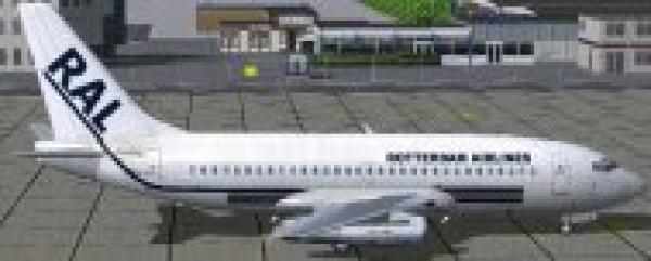 fs-freeware net - FS2004/FSX Boeing 737-200, Rotterdam Airlines, PH-PAL