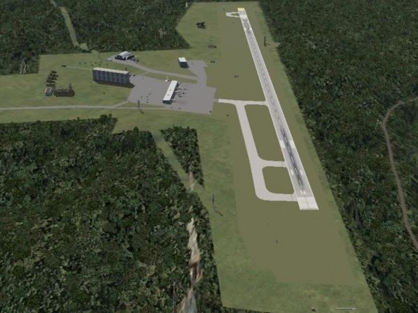 fs-freeware net - FSX Branson Airport KBBG INcluding AI Traffic