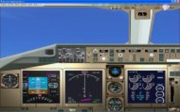 fs-freeware net - FSX Boeing 767 Panel