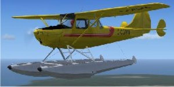 fs-freeware net - FSX Cessna L-19 (O-1) Model 305C Bird Dog