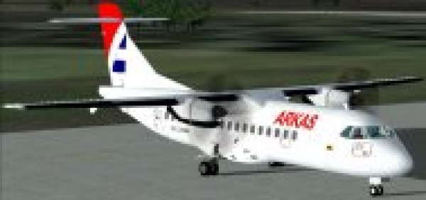 fs-freeware net - FS2004/FSX ATR-42-300, Arkas Colombia