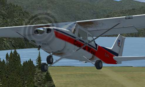 fs-freeware net - FSX Cessna 172 Repaint