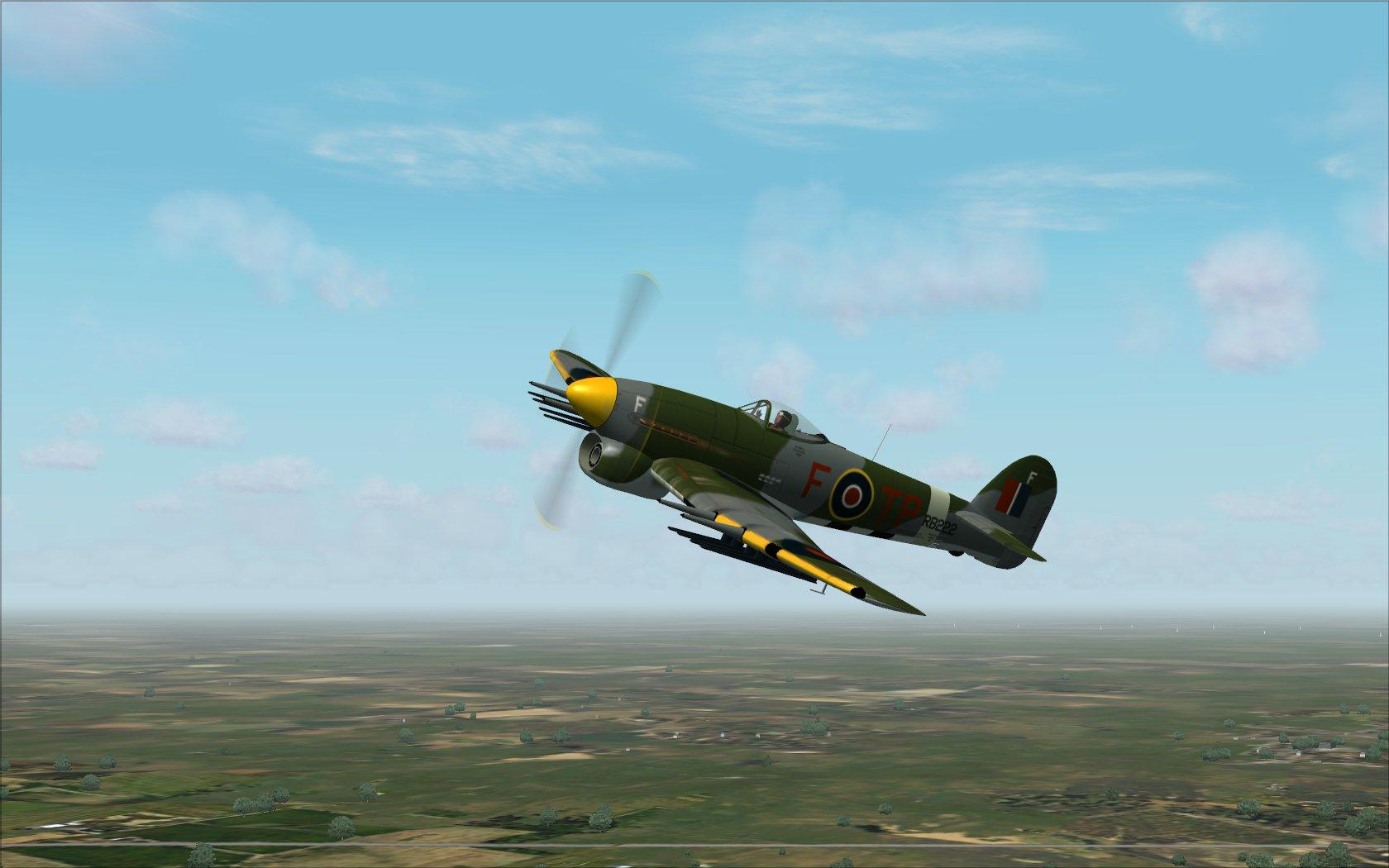 fs-freeware net - FSX Acceleration Hawker Typhoon Mk I