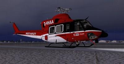 fs-freeware net - FSX Bell 412 ER Team DRF
