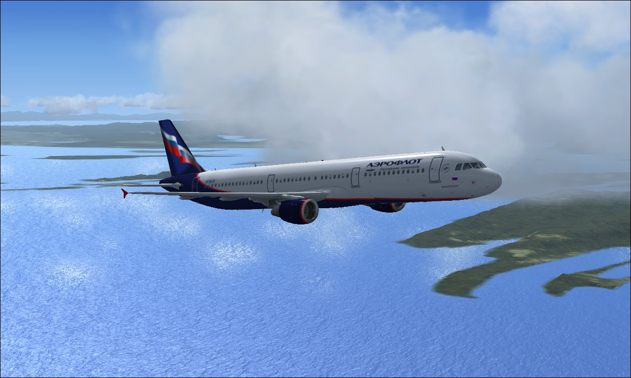 fs-freeware net - FSX Aeroflot Airbus A321