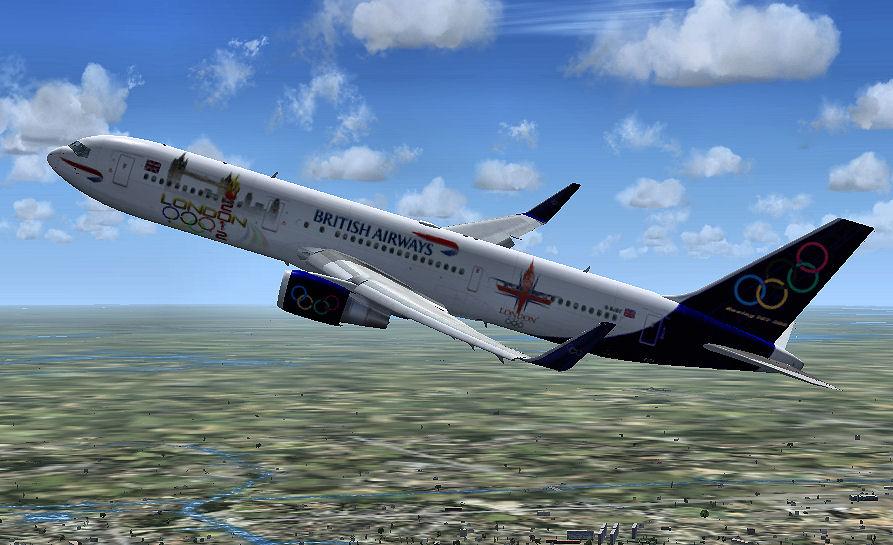 fs-freeware net - British Airways Olympic Boeing 767-300ER