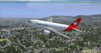FSX Helvetic Airways Airbus A319