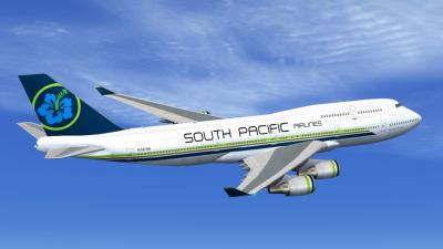 FSX Boeing 747-400 South Pacific Airlines